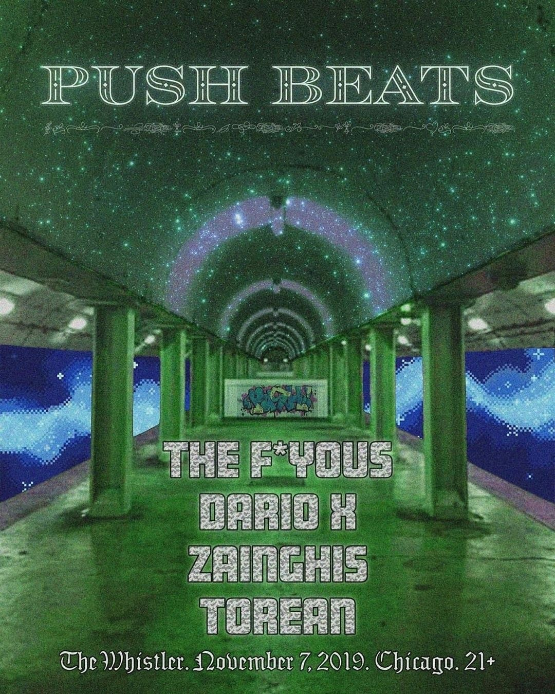 push beats flyer