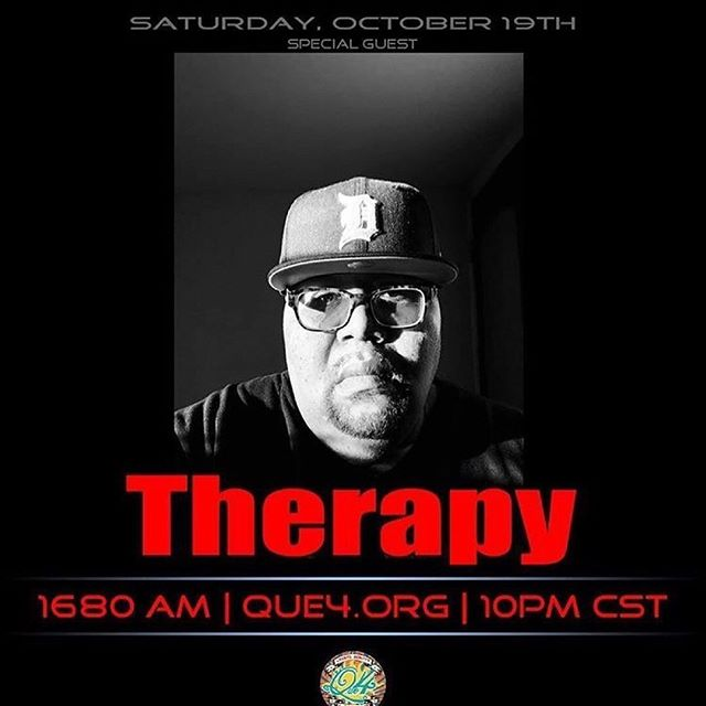 Check out Therapy Beats on Air tonight!